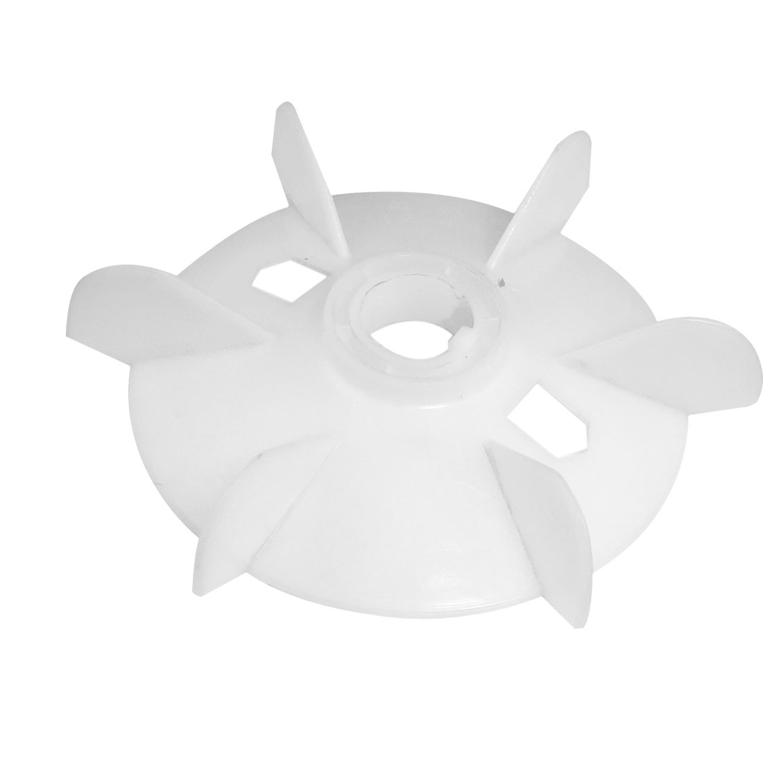 Spare Part 28mm Inner Diameter 6 Vanes Impeller Plastic Motor Fan Vane Wheel