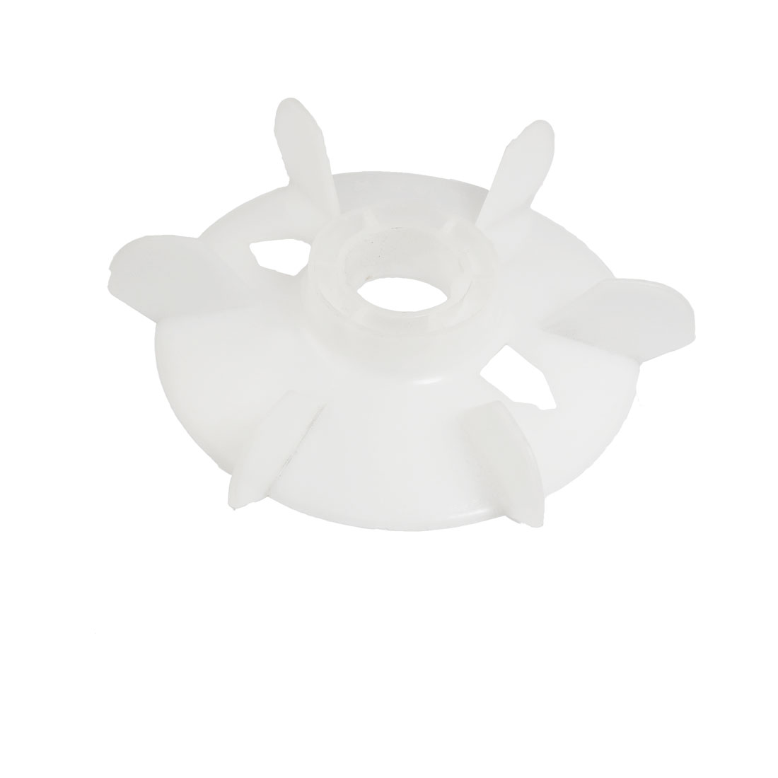 Spare Part 24mm Inner Diameter 6 Vanes Impeller Plastic Motor Fan Vane Wheel