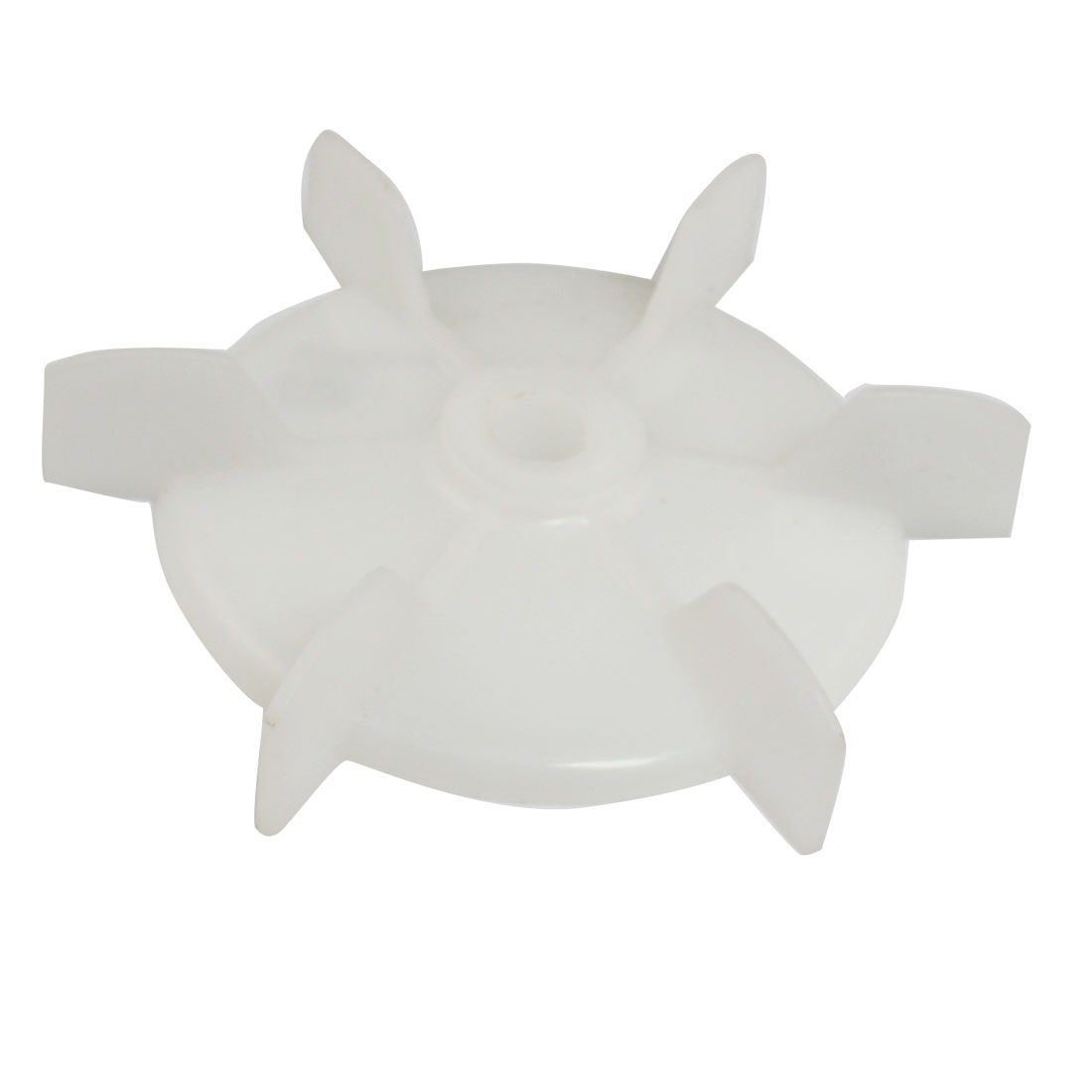 Spare Part 10mm Inner Diameter 6 Vanes Impeller Plastic Motor Fan Vane Wheel