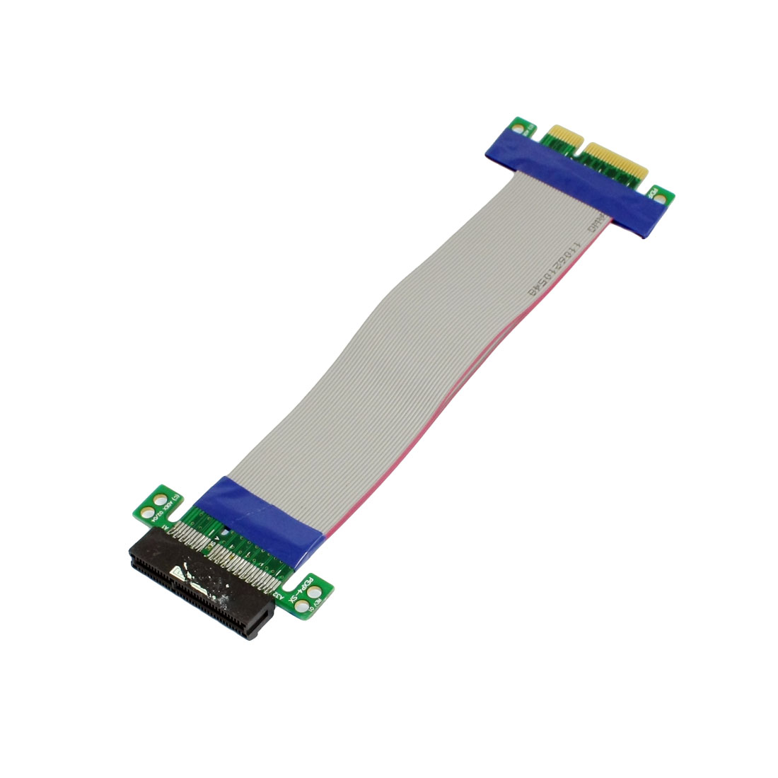 PCI-E 4X Slot Riser Card Extension Flexible Flex Relocate Cable