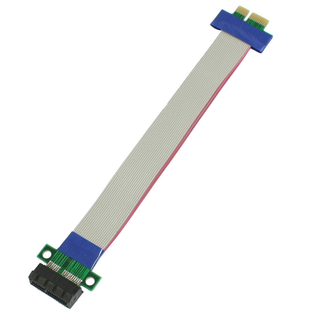 PCI-E 1X Slot Riser Card Extender Extension Ribbon Flex Cable Adapter