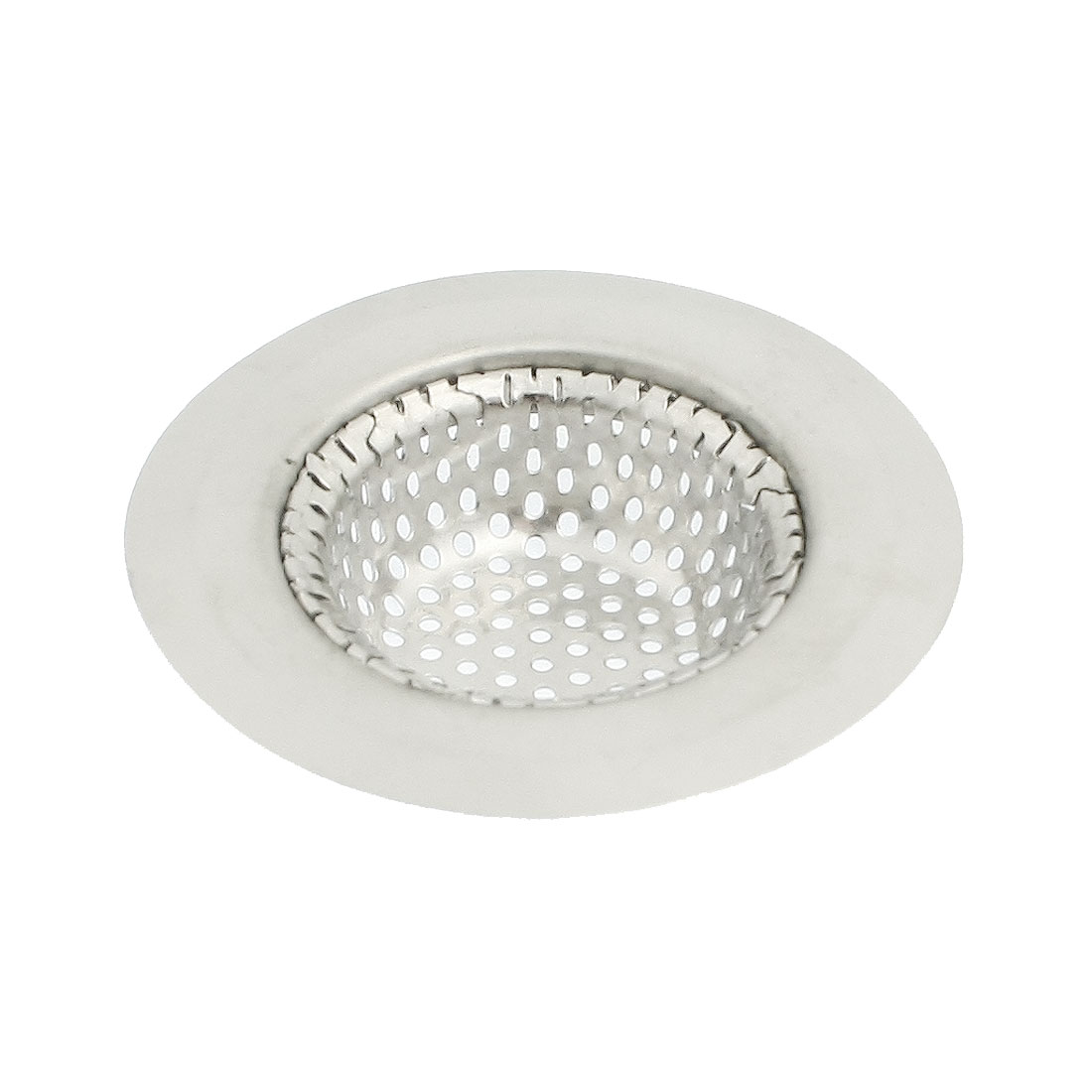 Bathroom Floor 70mm Top Dia. Silver Tone Sink Strainer Stopper