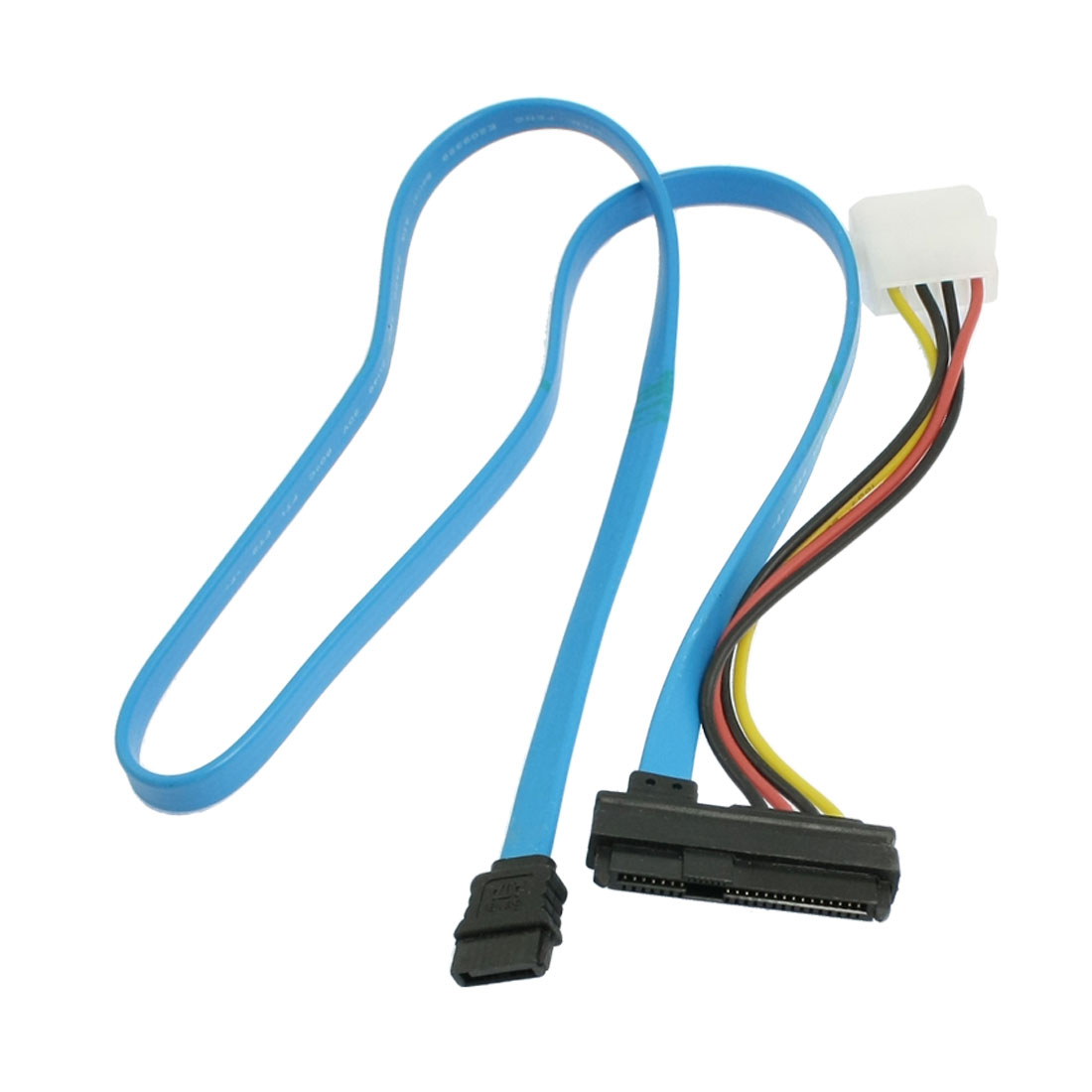 "27"" Long 4 Pin IDE to 7+15 Pin Female SATA Extension Cable Adapter"
