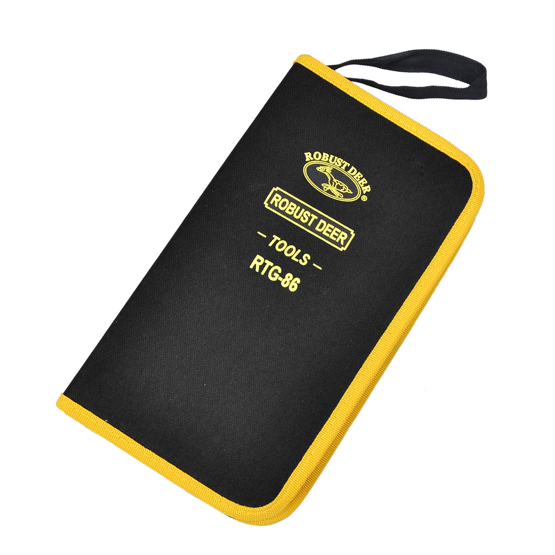 Scissor Pliers Black Yellow Nylon Tools Holder Pocket Organizer