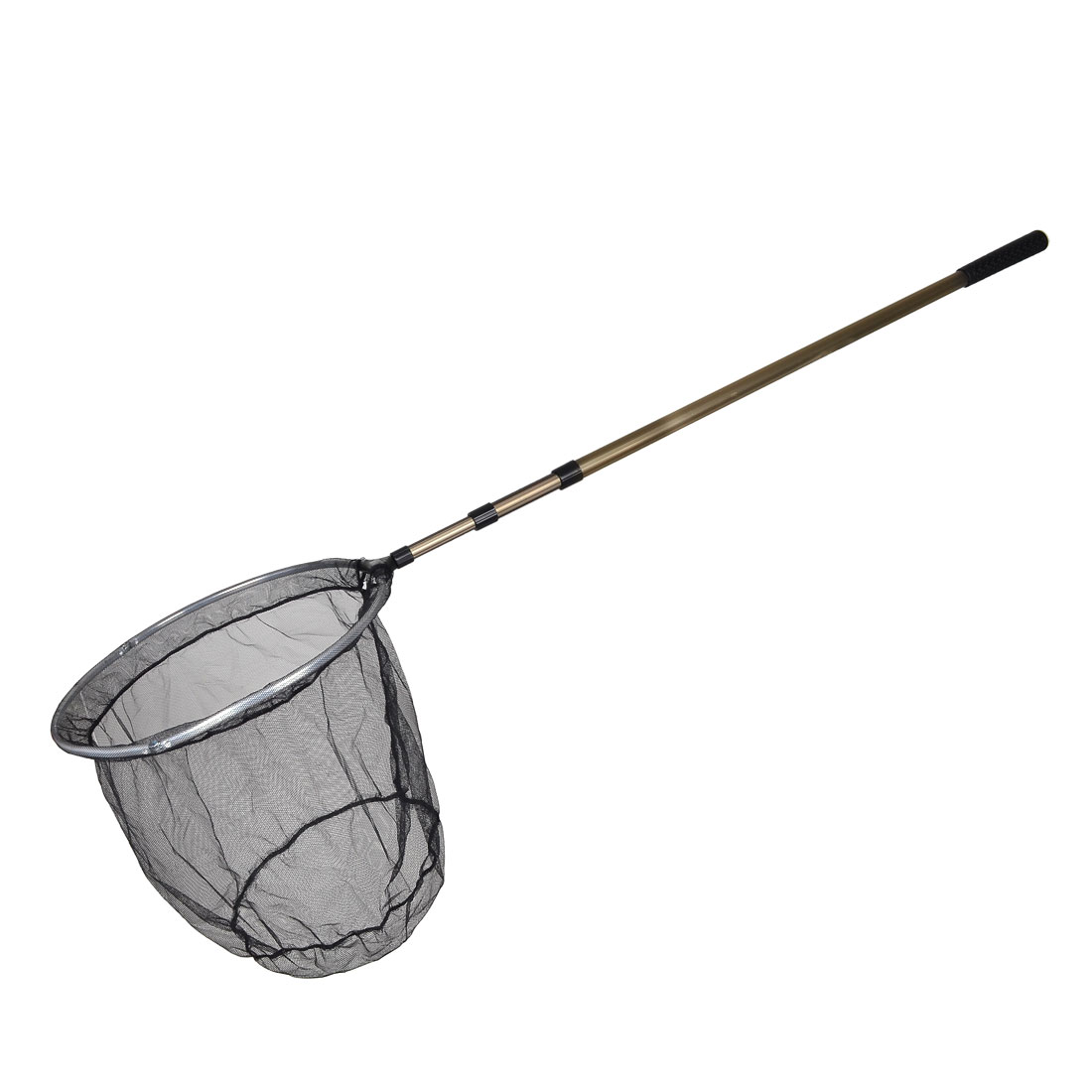 Foldable Round Mouth 5.7Ft Long Stainless Steel Fishing Landing Net