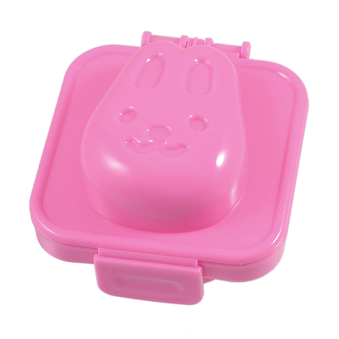 Pink Rabbit Head Design Onigiri Sushi Mold Tray Rice Ball Maker