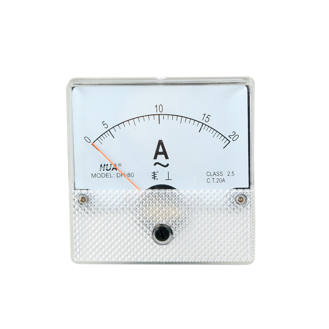 Analogue Needle AC 0-20A Class 2.5 Accuracy Analog Amperemeter