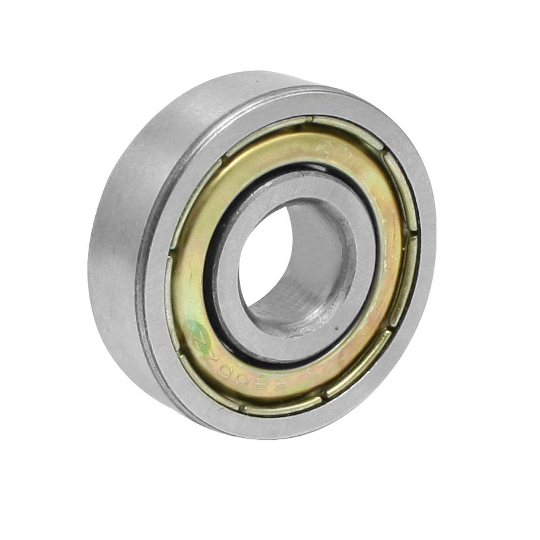 6200ZZ 2 Metal Shields Deep Groove Ball Bearing 10mm x 30mm x 9mm