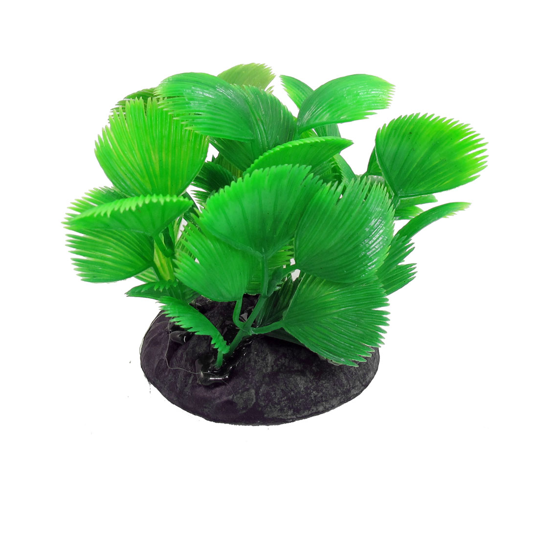 "2.9"" Height Green Aquatic Simulated Grass Decoration for Fish Tank"