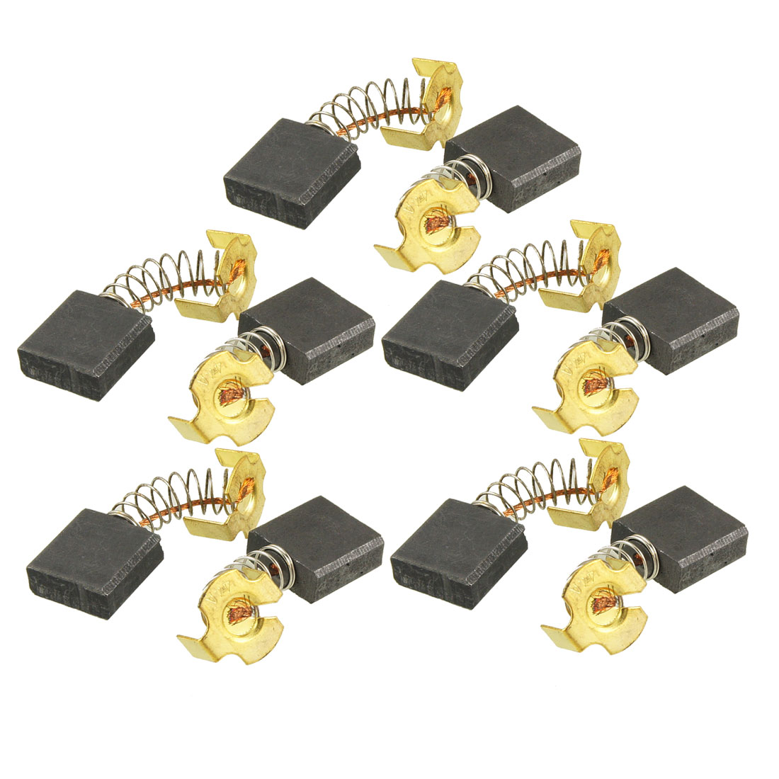 "10 Pcs DC Electric Motor 43/64"" x 43/64"" x 7/25"" Carbon Brushes"