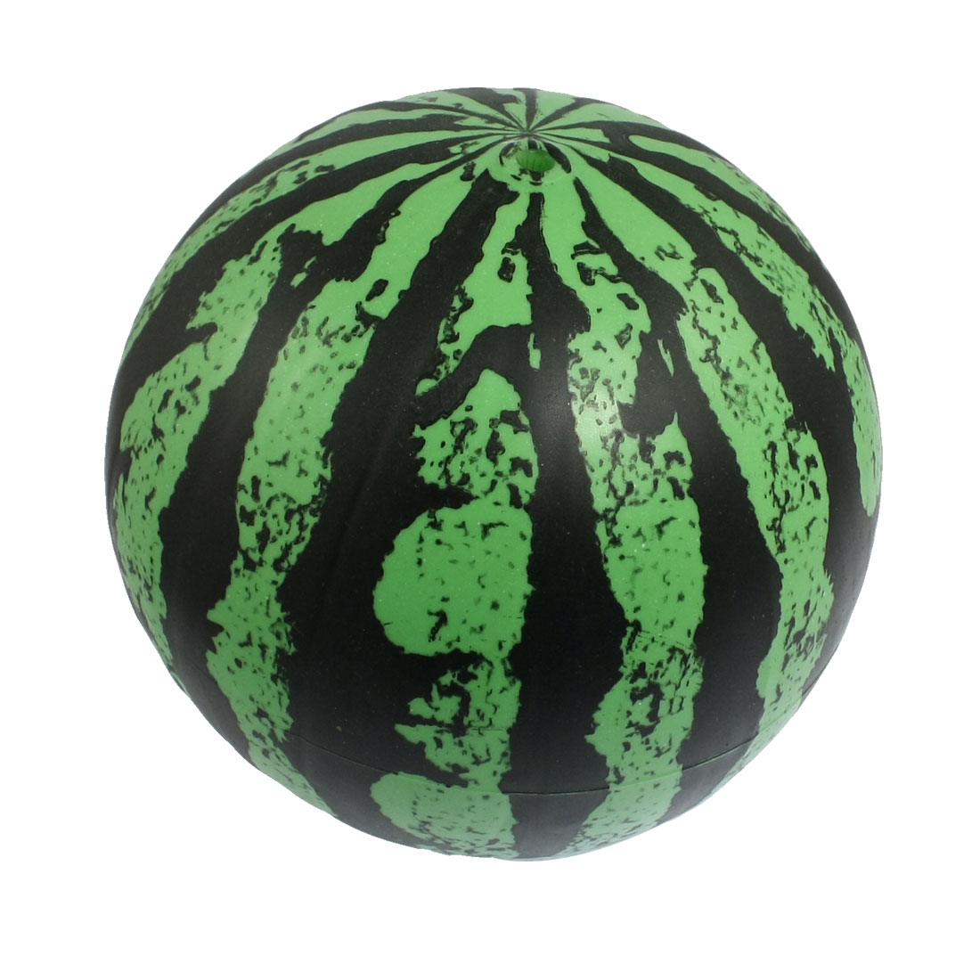 Children Green Black Rubber Inflatable Watermelon Ball Toy