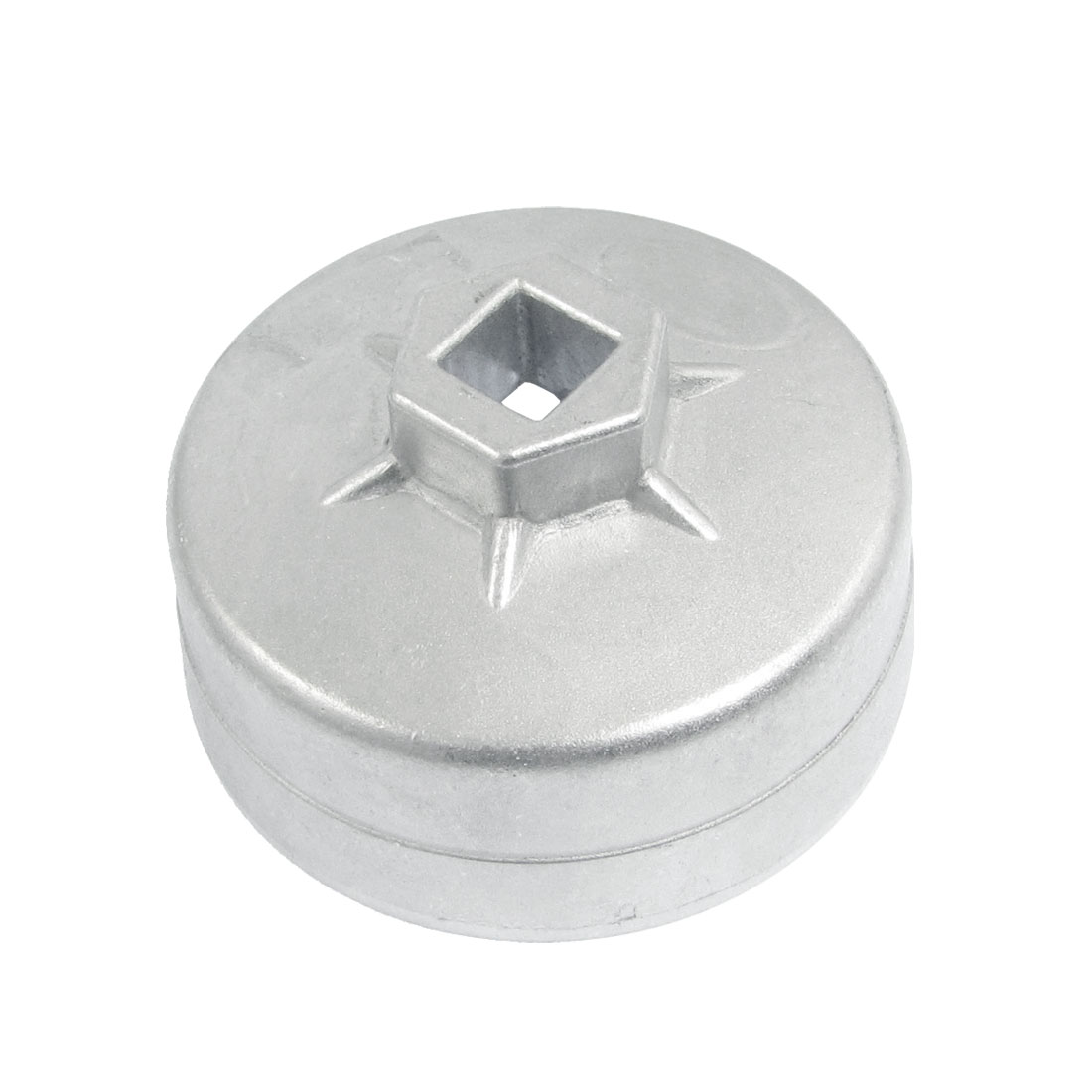 Car Auto Cap Oil Filter Socket Wrench Cup Tool 74mm 15 Flutes