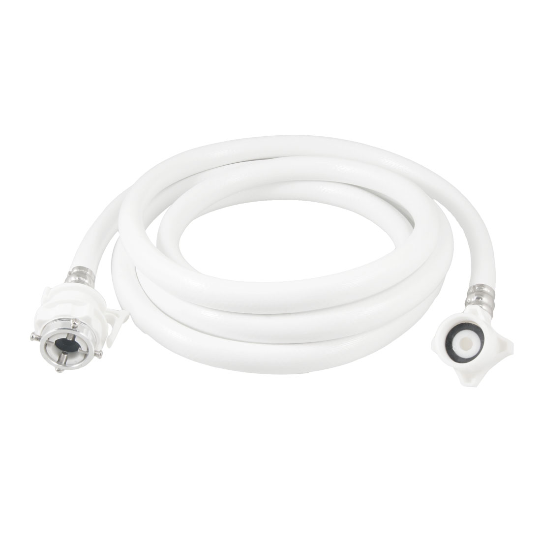 Automatic 3 Meter Length Flexible Inlet Hose Tube White for Washing Machine