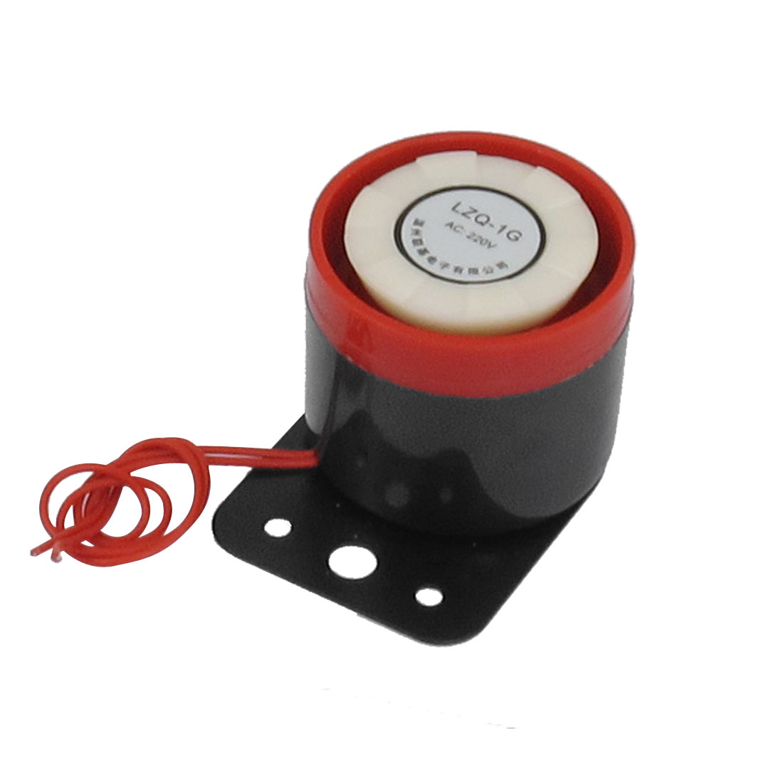 LZQ-1G 2 Red Wire Continuous Sound Electronic Alarm Buzzer 100dB AC 220V