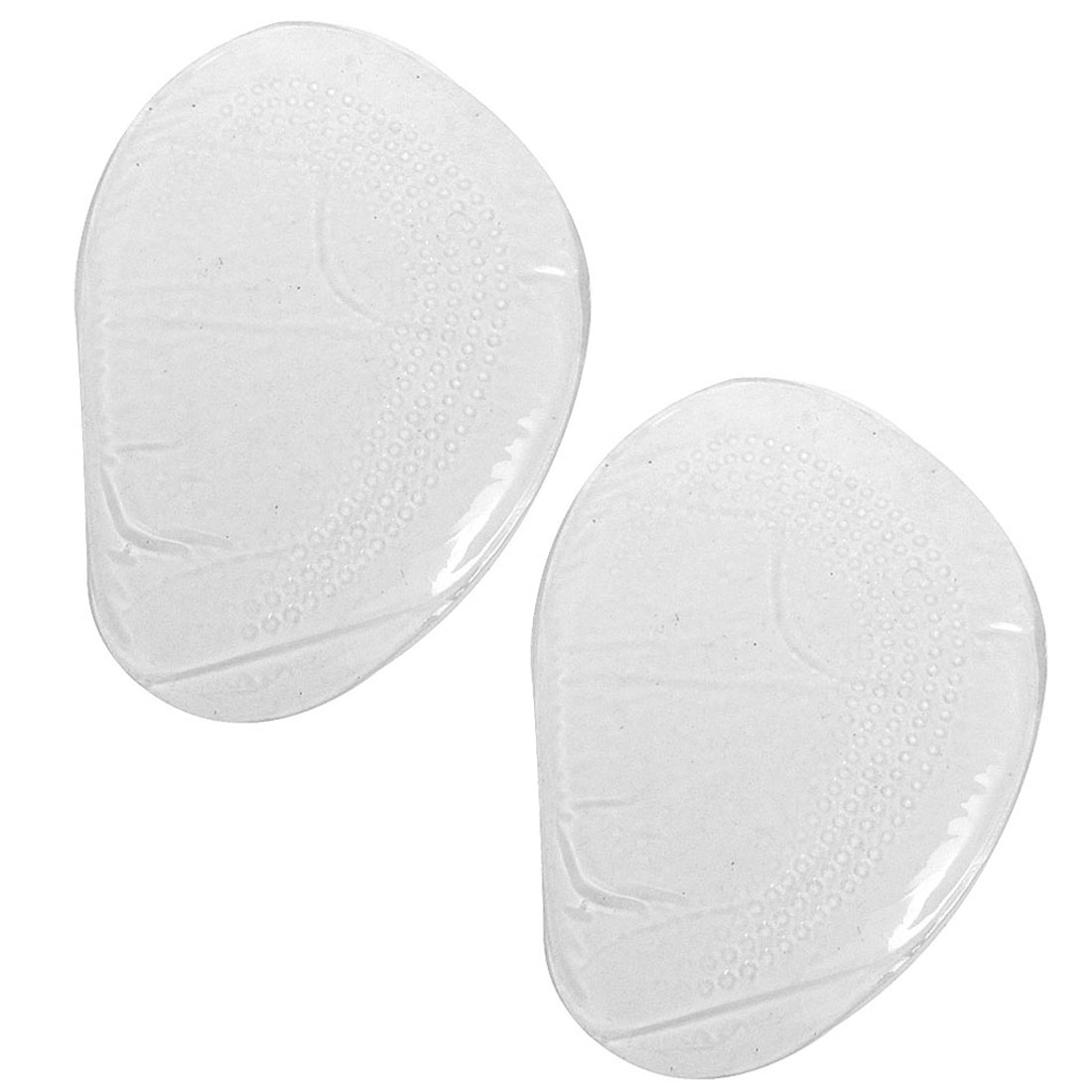 Pair Clear Silicone Nonslip Front Pads Cushions Insoles for Women