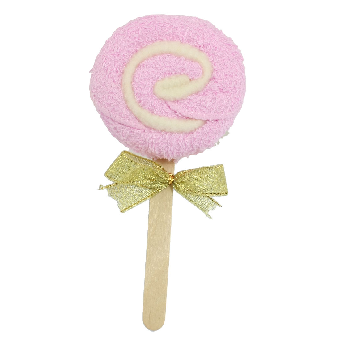 White Pink Lollipop Shaped Towel Party Wedding Gift Decor Favor
