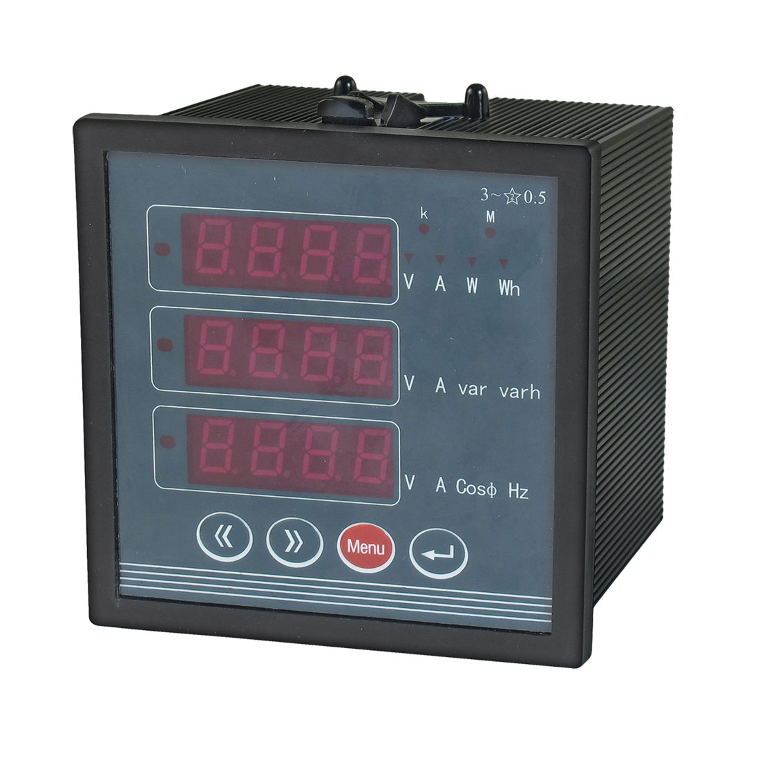 AC 380V 5A Multifunction LED Display Voltage Frequency Meter Instrument