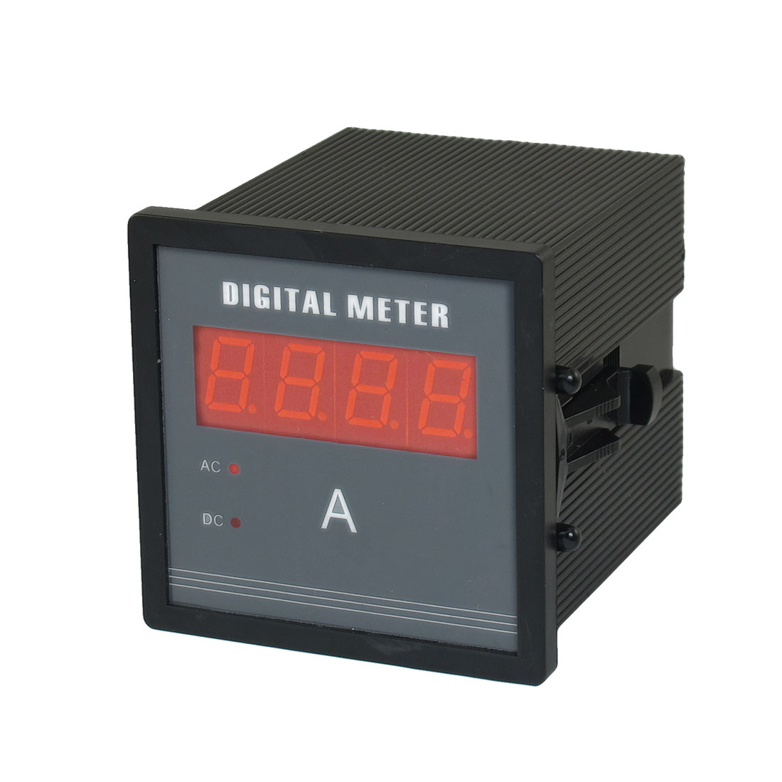 AC 500V 5A Red LED Display Panel Ampere Combo Meter