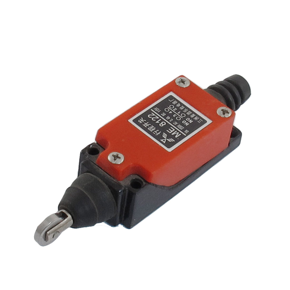 0.4A 1150VDC 5A 250VAC 1NO 1NC SPDT Momentary Cross Roller Plunger Limit Switch
