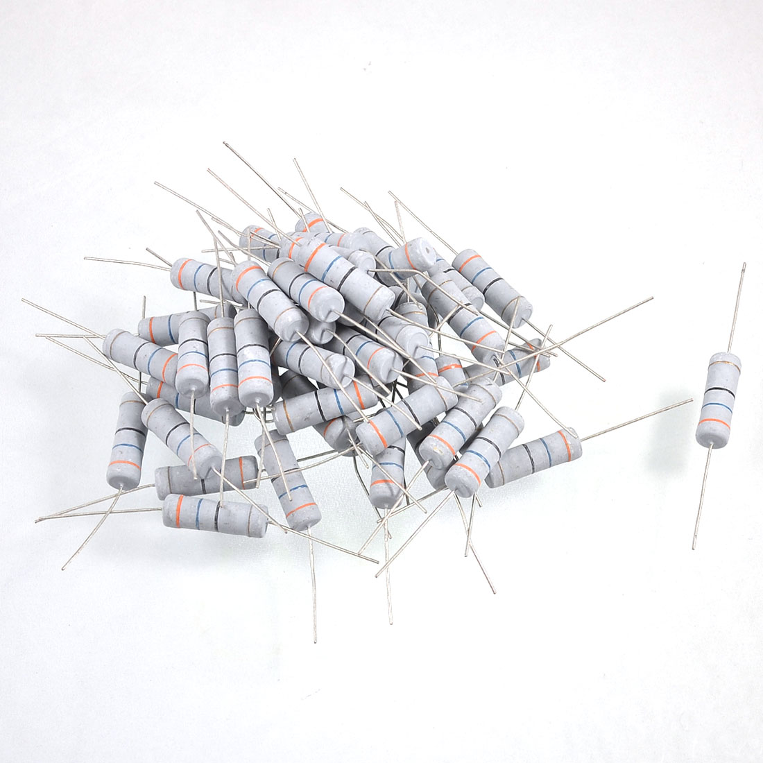 500V 5W Watt 36 Ohm 5% Axial Carbon Film Resistor 50 Pcs