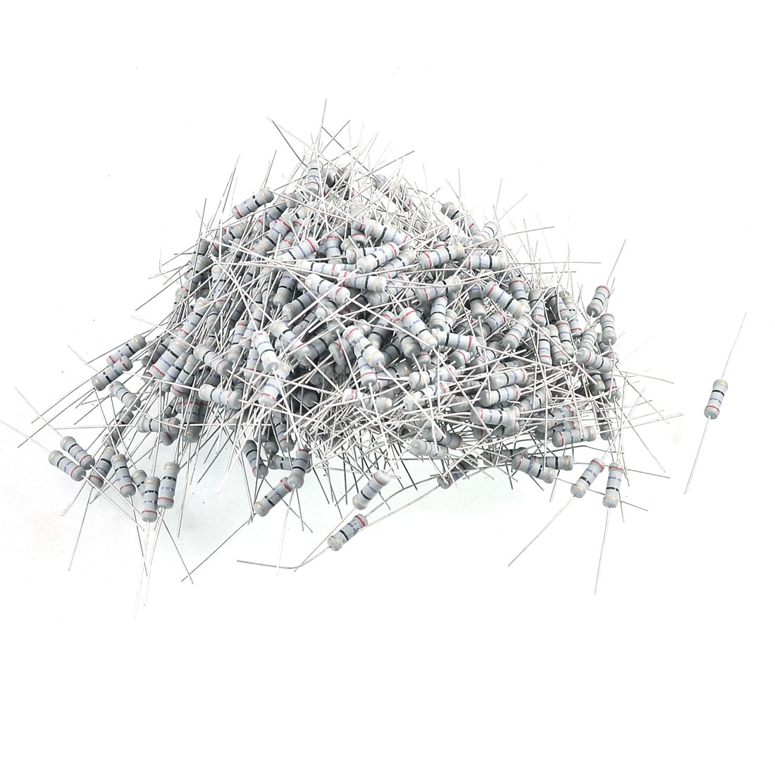 350V 1W Watt 27 Ohm 5% Axial Carbon Film Resistor 500 Pcs
