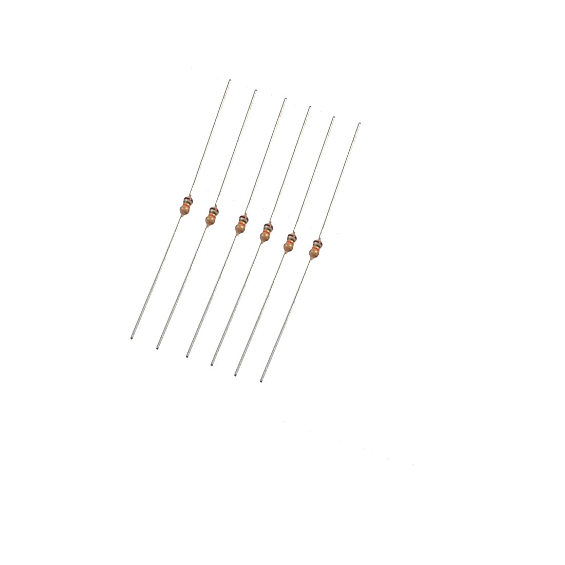 1/8W Watt 75K Ohm 5% Axial Carbon Film Resistor 1000 Pcs