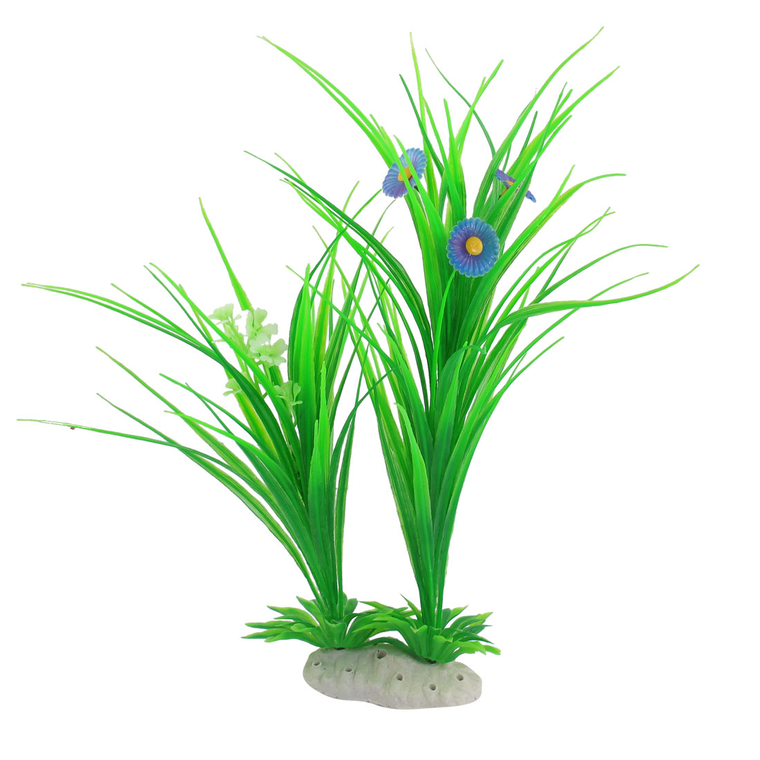 Underwater Florescent Green Plants Fish Tank Aquarium Ornament 13.4""