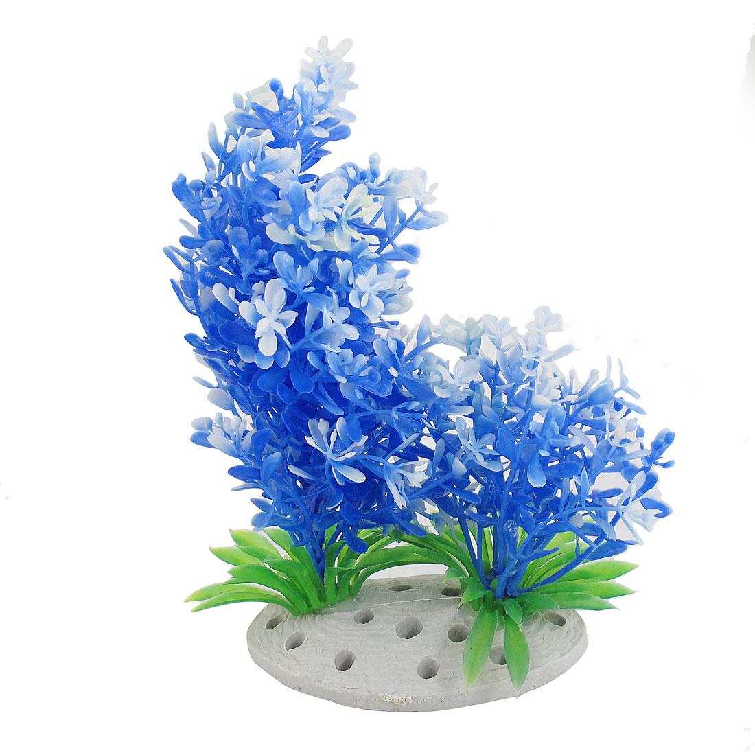 "7.3"" Height Landscaping Plastic Colorful Plants Aquarium Aquascaping Tank Decor"