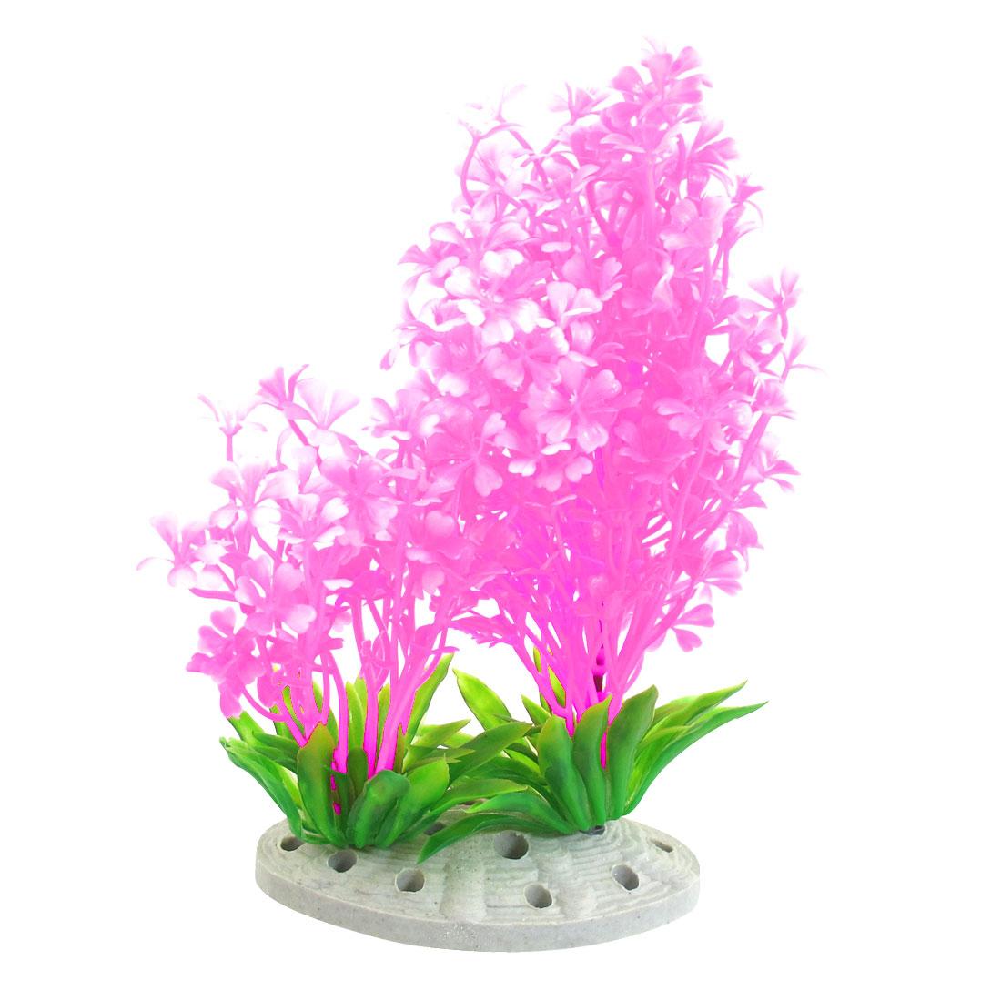 """Fish Pet Underwater Multicolor Plastic Plants Tank Aquarium Ornament 7.1"""""""