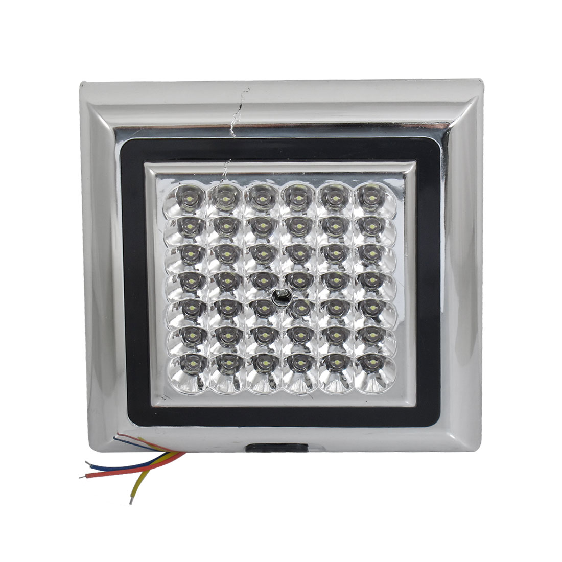 Metal Housing 42 LED White Light Dome Roof Lamp for Car