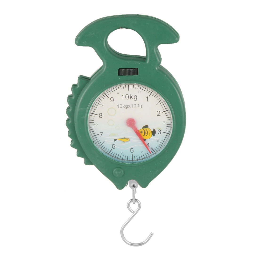 10Kg Arabic Number Display Spring Scale Weighter Green