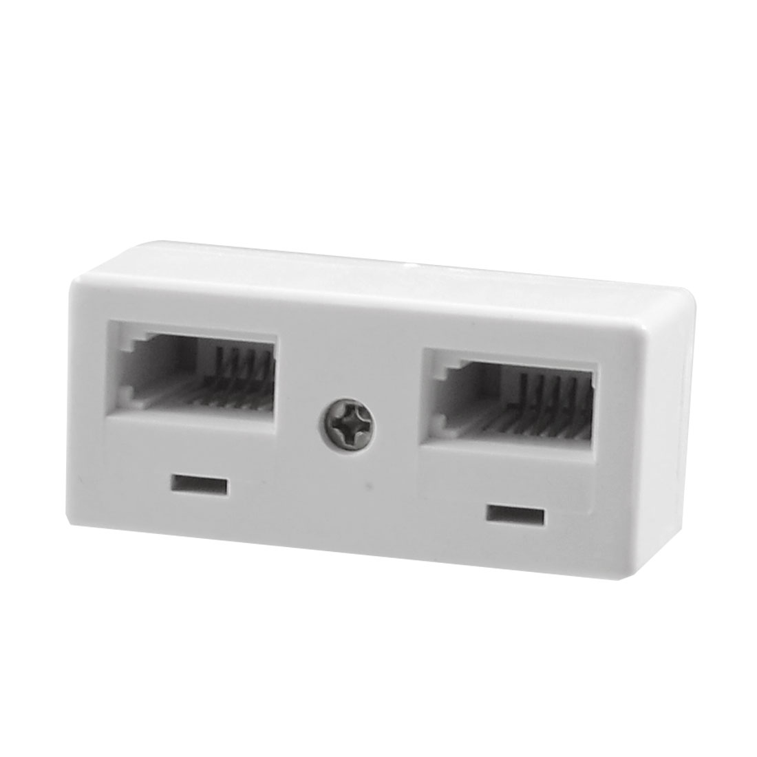 Telephone 1 Male to 2 Female BT Coupler Splitter