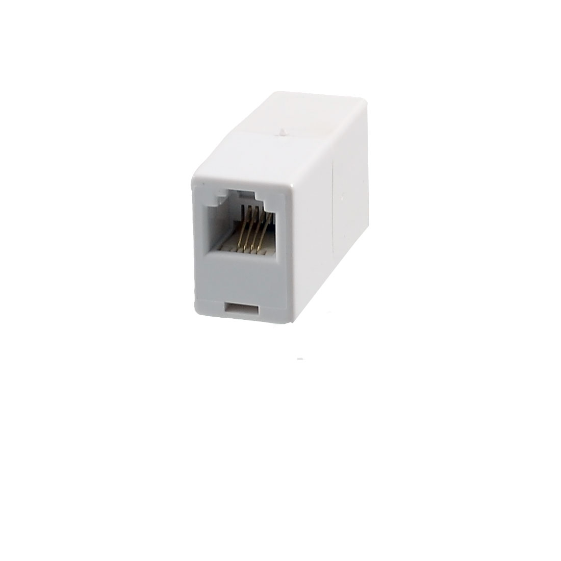 British Type 6P4C Female to US Female RJ11 Telephone Inline Coupler