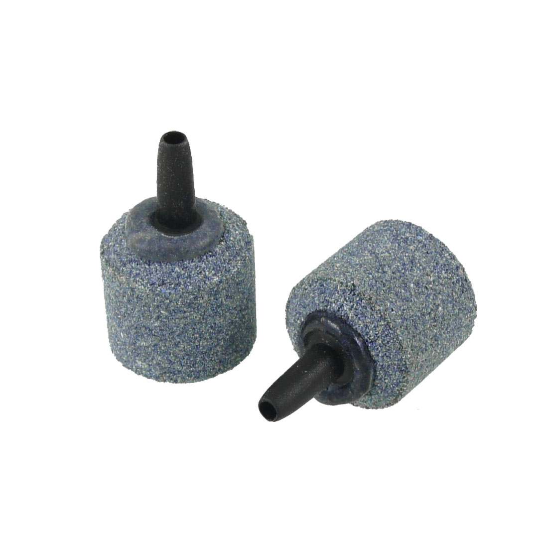 2 Pcs 4.1mm Air Tube Dark Gray Mineral Release Bubbles Airstone for Aquarium