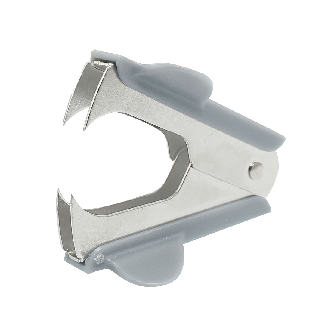 Office School Stationery Gray Portable Jaw Style Staple Remover