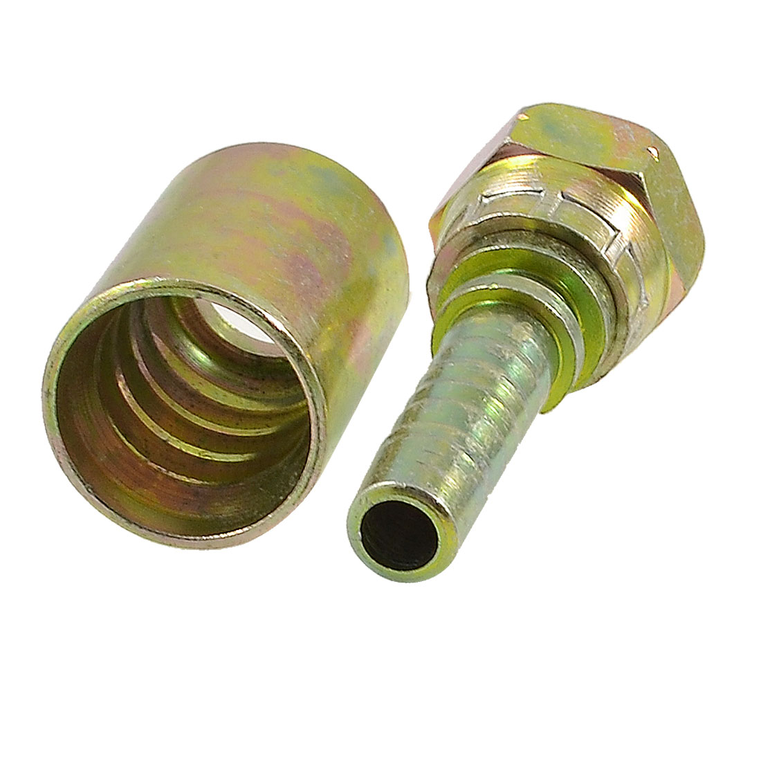"3/8"" PT Thread Hydraulic Cone Hose End High Pressure Oil Pipe Connector"