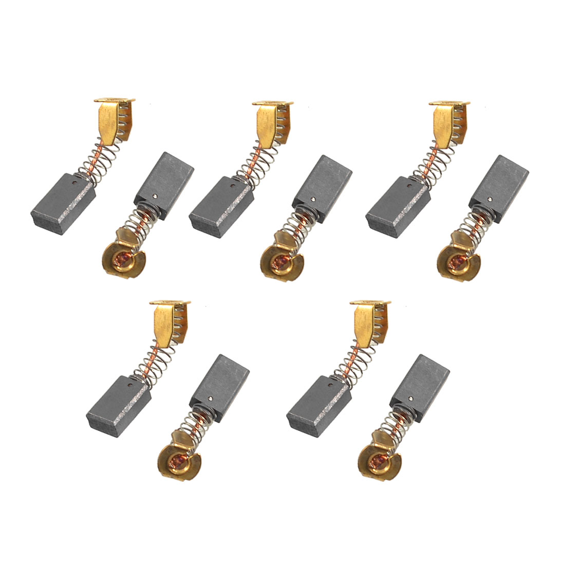10 Pairs 13mm x 7.8mm x 4.8mm CB51 Motor Carbon Brushes for Hammer Drill