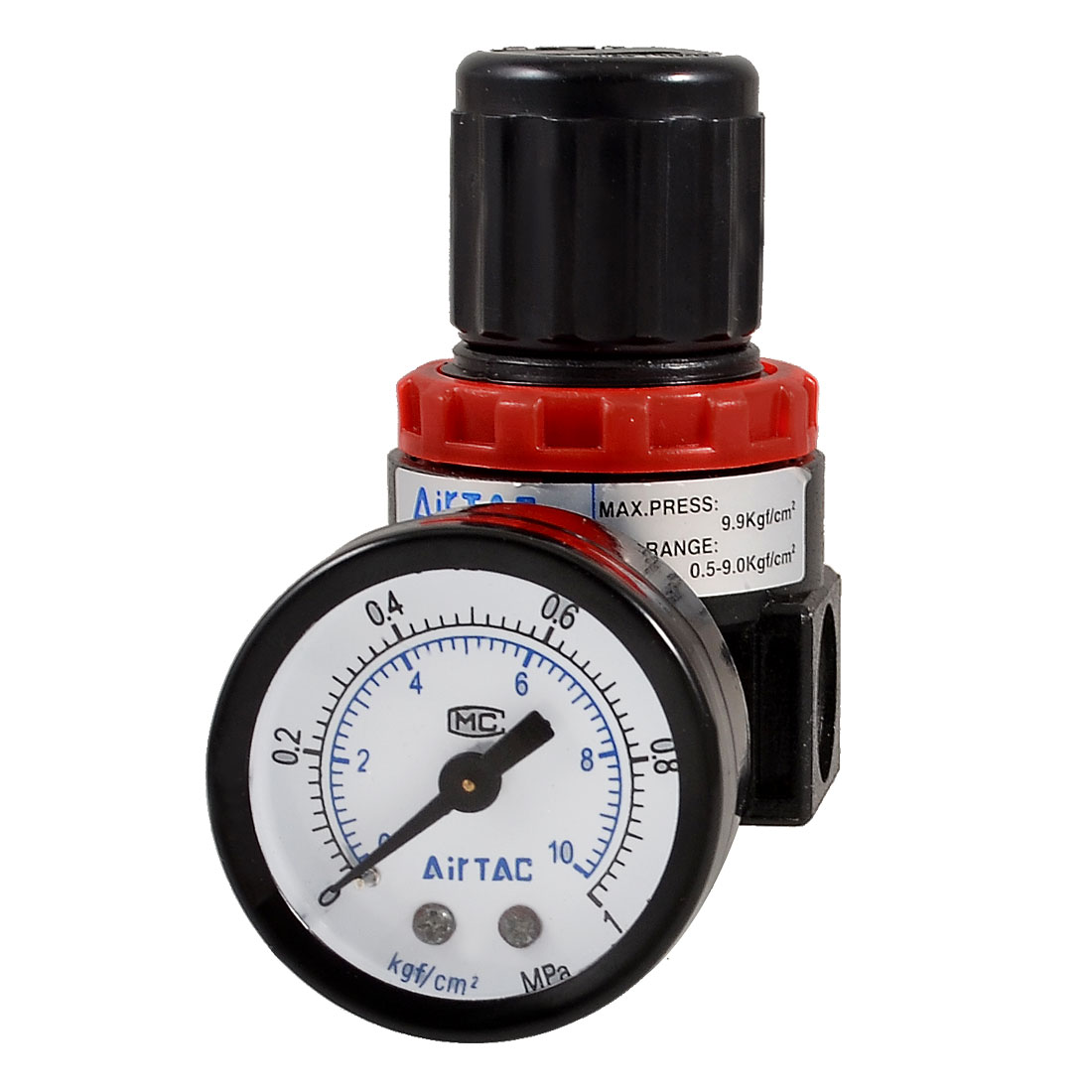 AR-2000 Air Source Compressor Pneumatic Regulator w Pressure Gauge