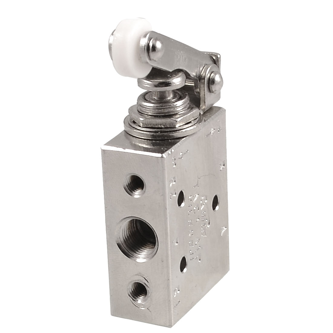 Silver Tone Alloy 2 Position 5 Way Roller Lever Mechanical Valve