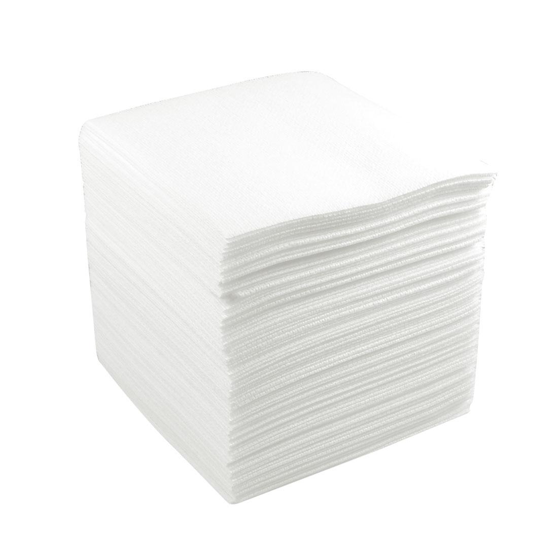 100 Pcs PCB Clean Cleanroom Wiper White 250mm x 250mm