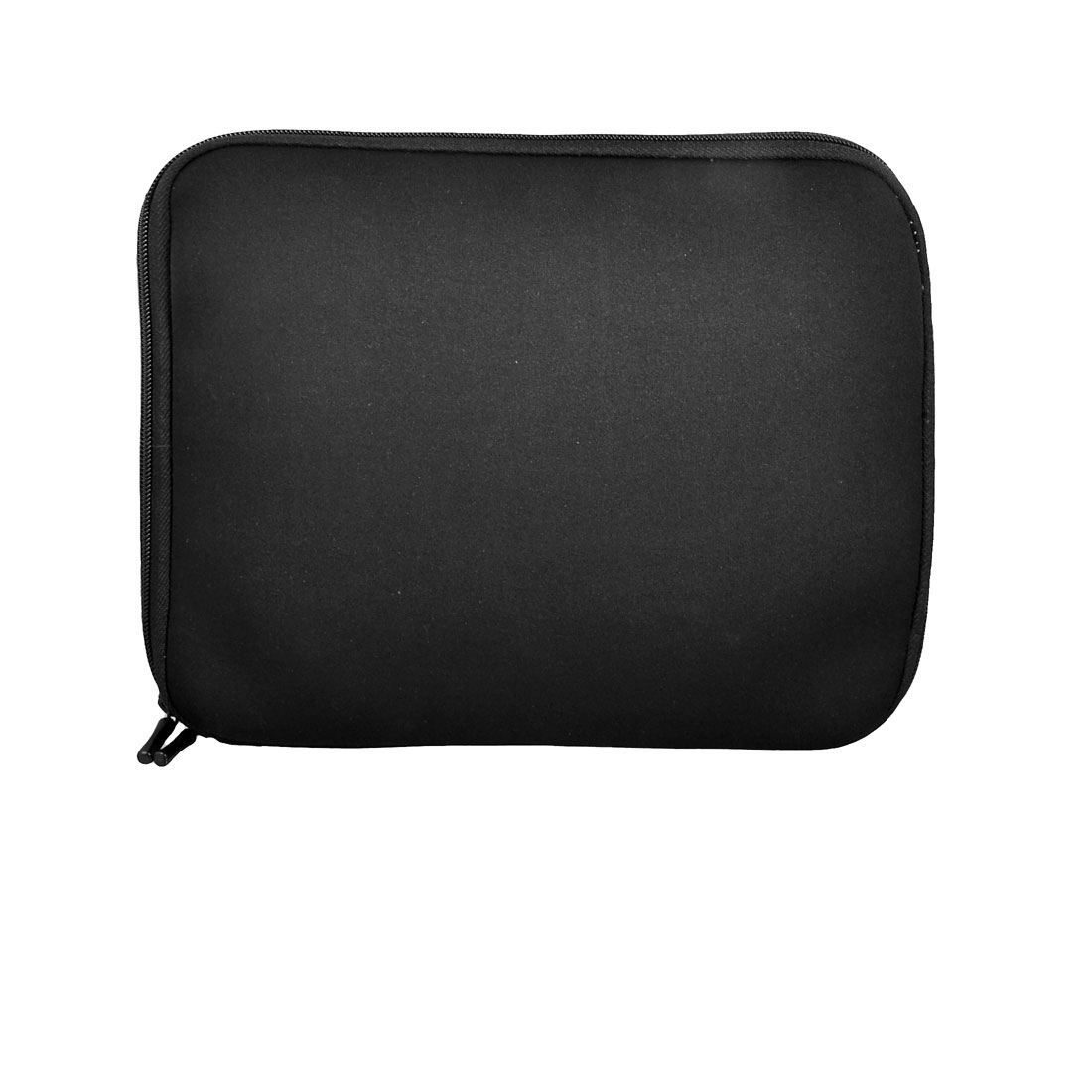 "Black Neoprene Double Zipper Closure Bag for 10"" PC Laptop Notebook"