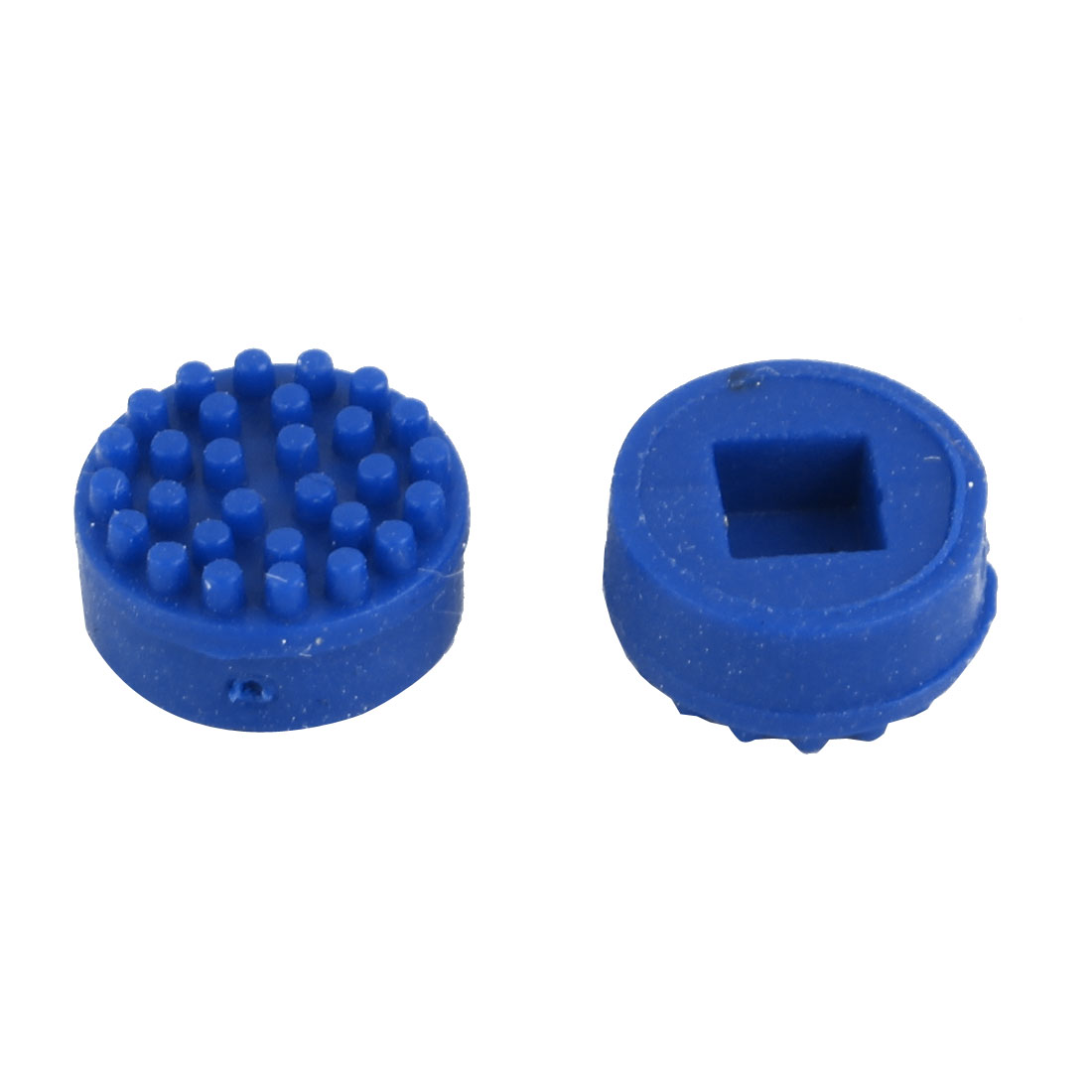 7.0mm OD 4.0mm Height Plastic TrackPoint Blue Cap for HP Laptops 2 Pcs