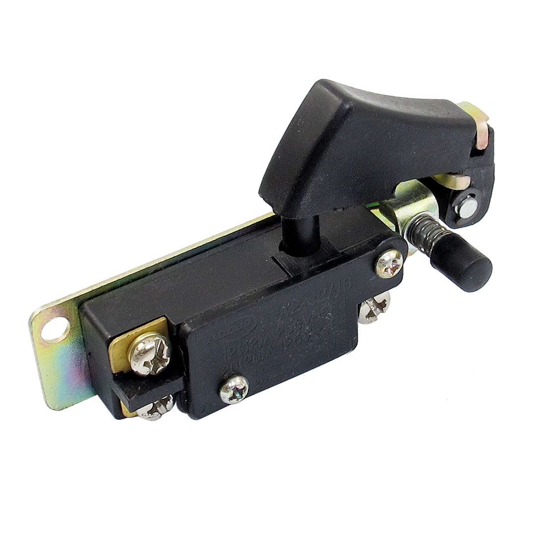 AC 250V 12A AC 125V 20A Lock On Drill Angle Grinder Trigger Switch