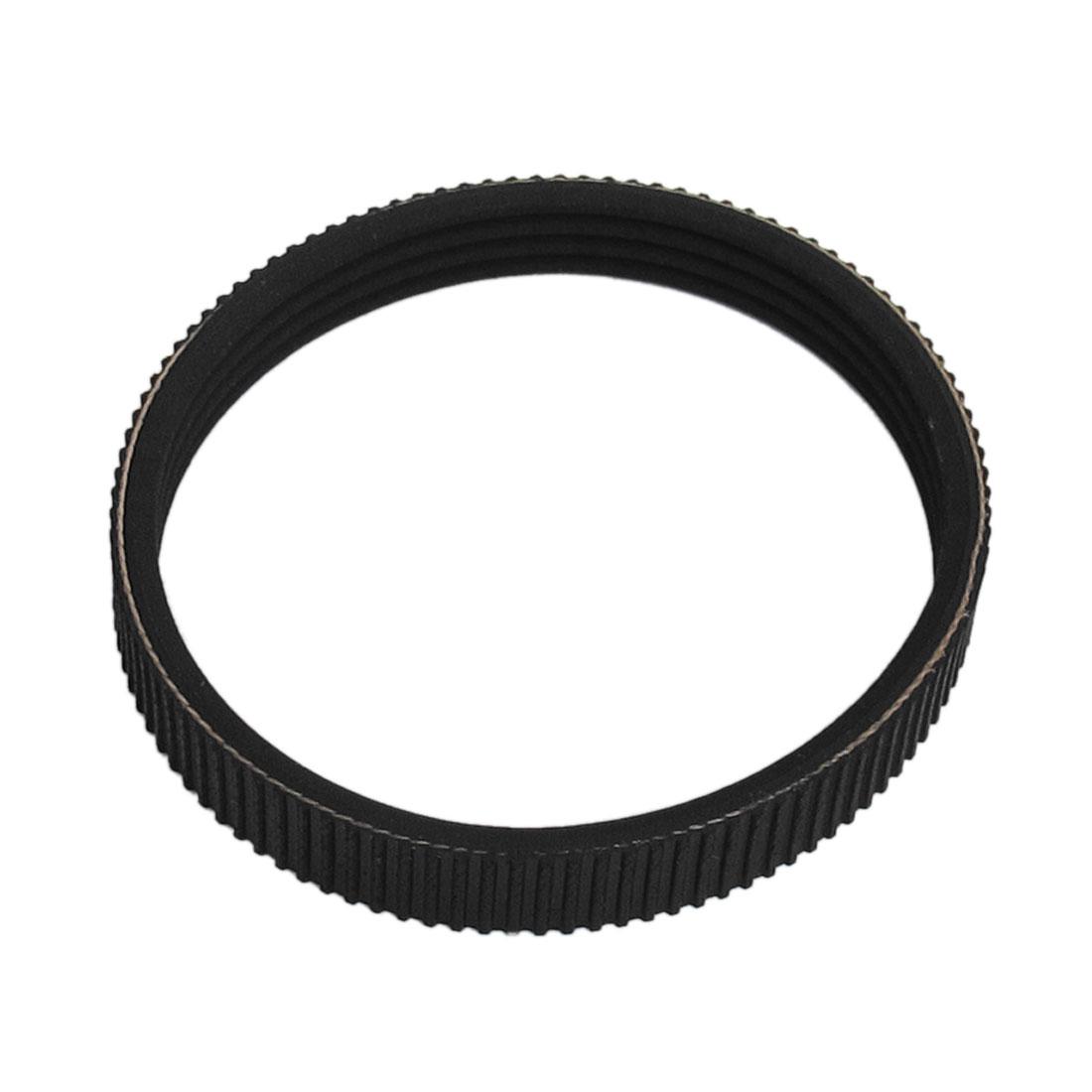 Black Soft Plastic Cutting Machine Drive Belt for Hitachi F20
