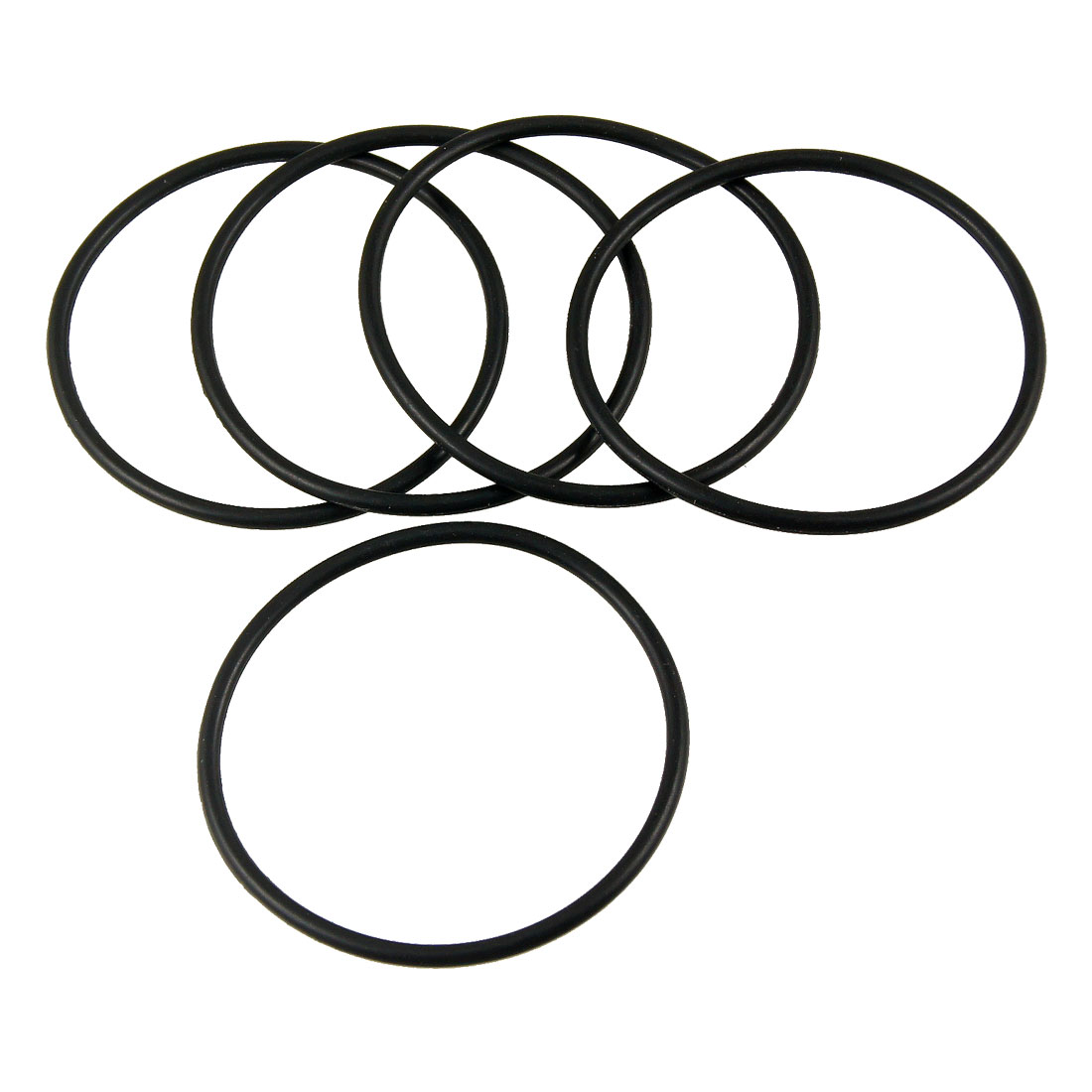 5 PCS 52mm x 2.4mm Rubber Sealing Oil Filter O Rings Gaskets