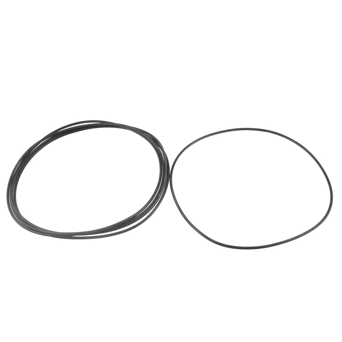180mm x 3.1mm Rubber Sealing Oil Filter O Rings Gaskets Washer 5 Pcs