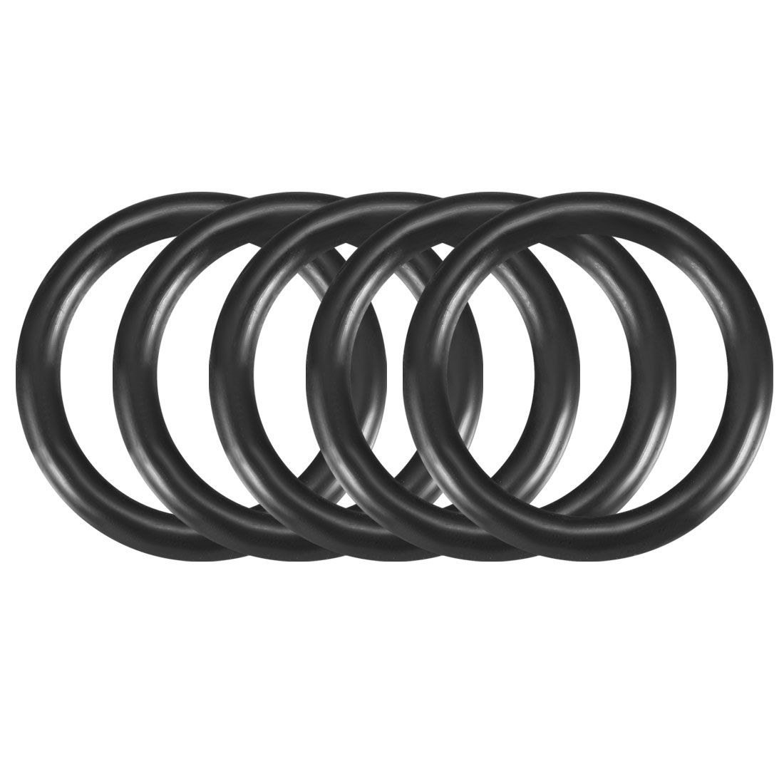 5 Pcs Mechanical Rubber Sealing Oil Filter O Rings Gaskets 35mm x 26mm x 4.6mm