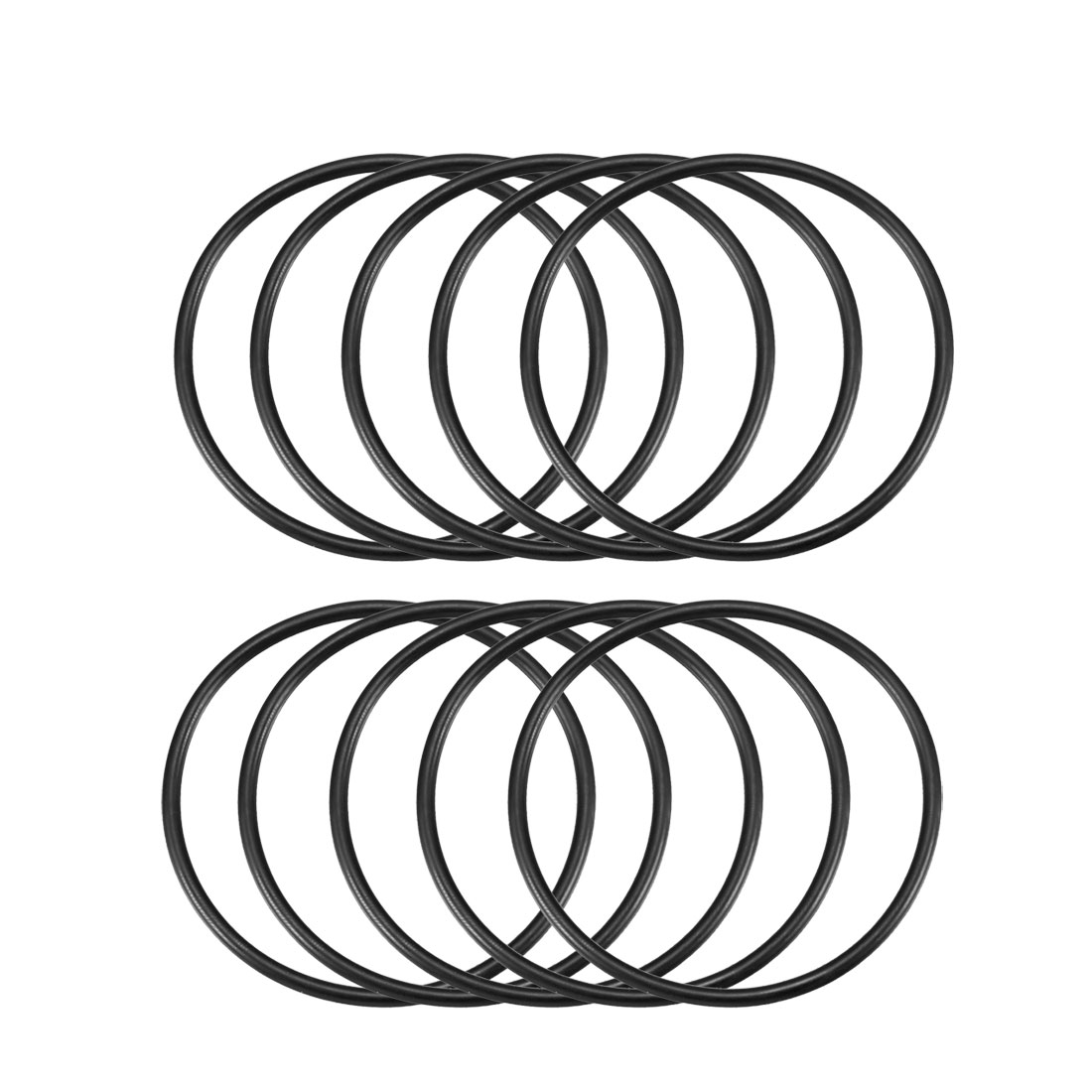 10 x Industrial Rubber O Ring Oil Filter Sealing Gaskets 71mm x 3.1mm