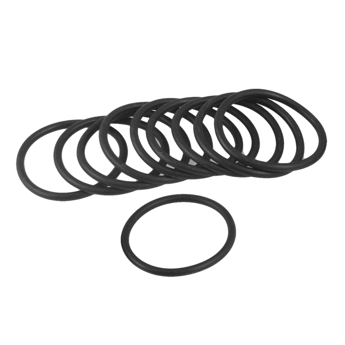 10 Pcs 42mm x 3.1mm x 35.8mm Industrial Rubber O Ring Oil Seal Gaskets