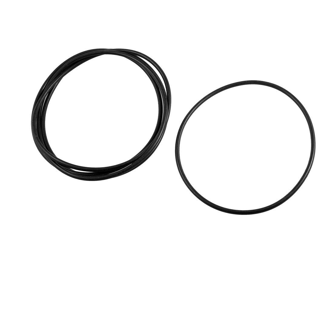 5 x 100mm External Dia 3.1mm Thickness Mechanical Rubber Oil Seal O Ring Gaskets